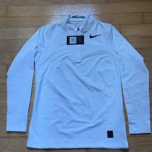 9a586f458 Nike Men's Warm Fitted Long Sleeve 1/4 Mock Top NWT